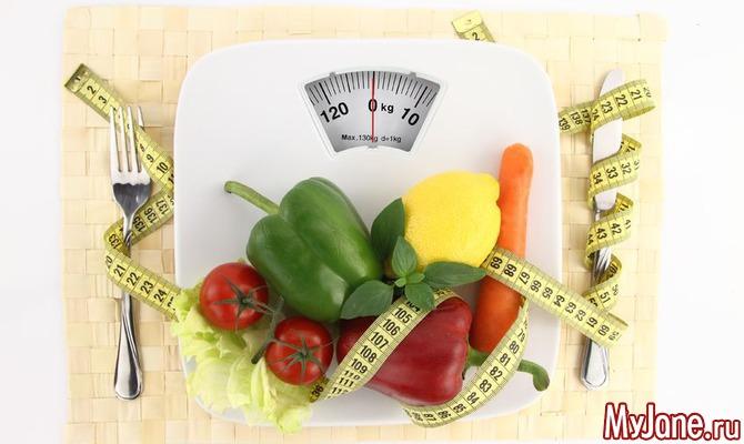 Похудение без диет. Принципы…