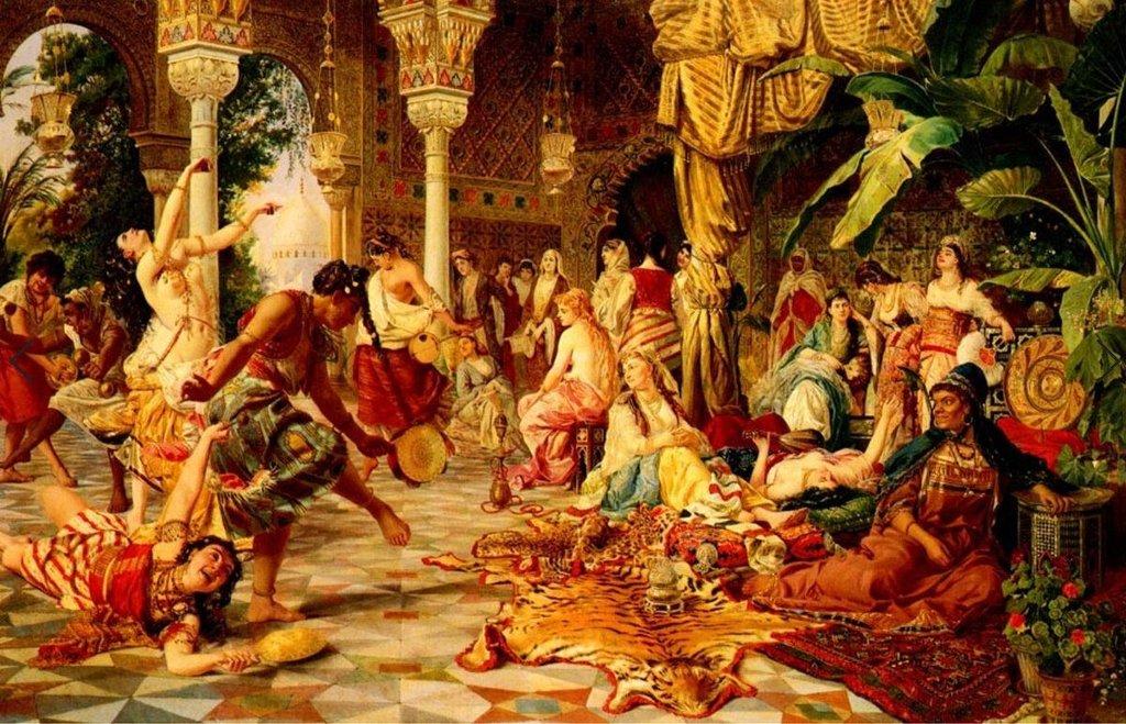 Гаремы султанов Османской империи