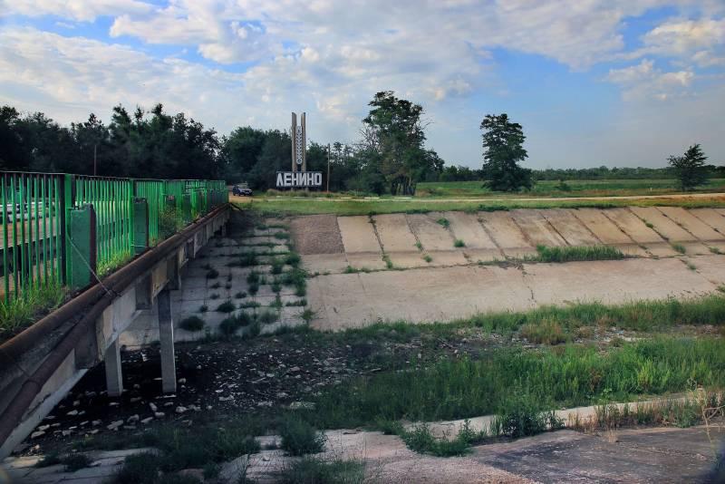 Кто победит в «войне» за воду в Крыму: жизнь без днепровской воды россия,украина