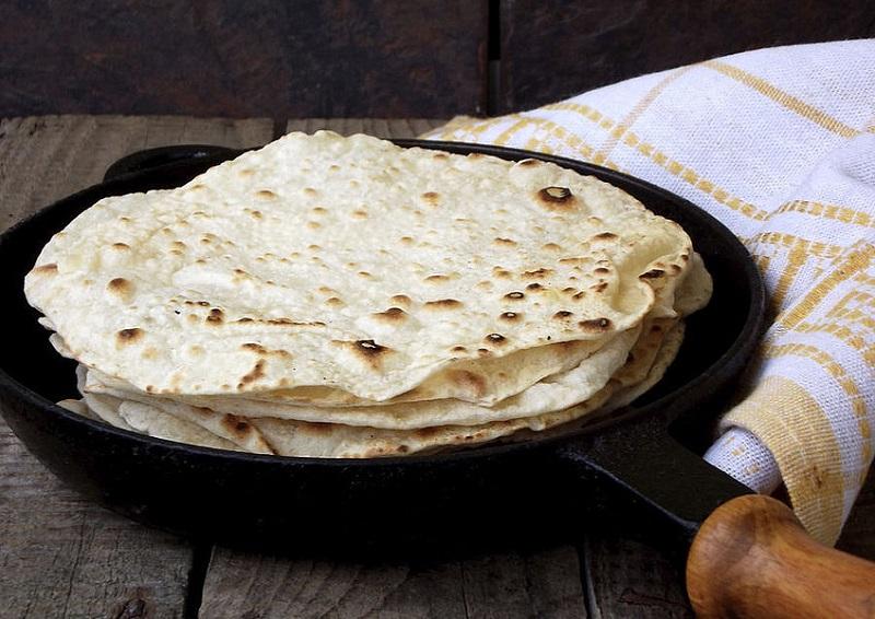 Лепешка на сковороде быстро рецепт с фото