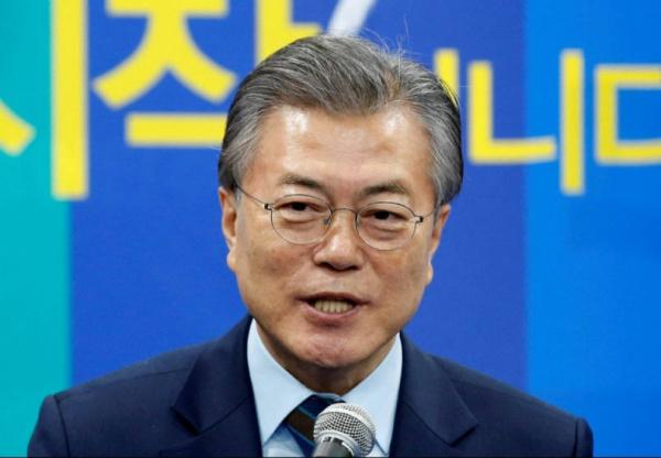 Мун Чжэ Ин: Наша сПутиным цель— денуклеаризация Корейского полуострова
