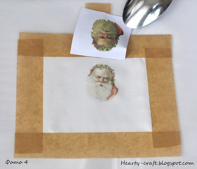 перевод картинки на ткань лазерный принтер