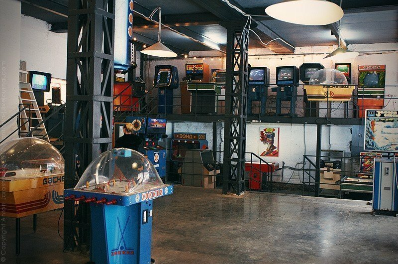 2. Музей советских игровых автоматов (Москва) достопримечательности, наука и техника, путешествия, россия