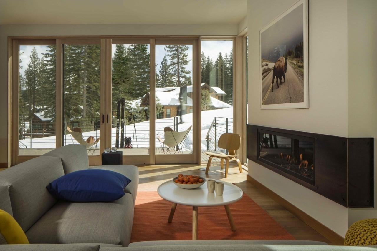 Таунхаусы и особняки на горнолыжном курорте в США