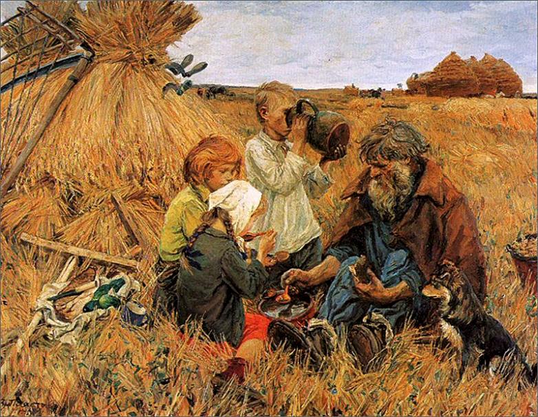 Как воспитывали крестьянских детей 100 лет назад