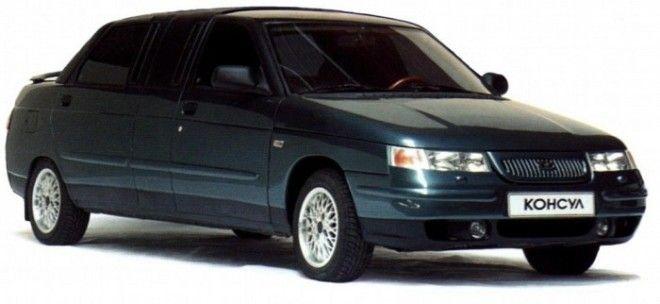 Представительский лимузин ВАЗ 21109 Консул