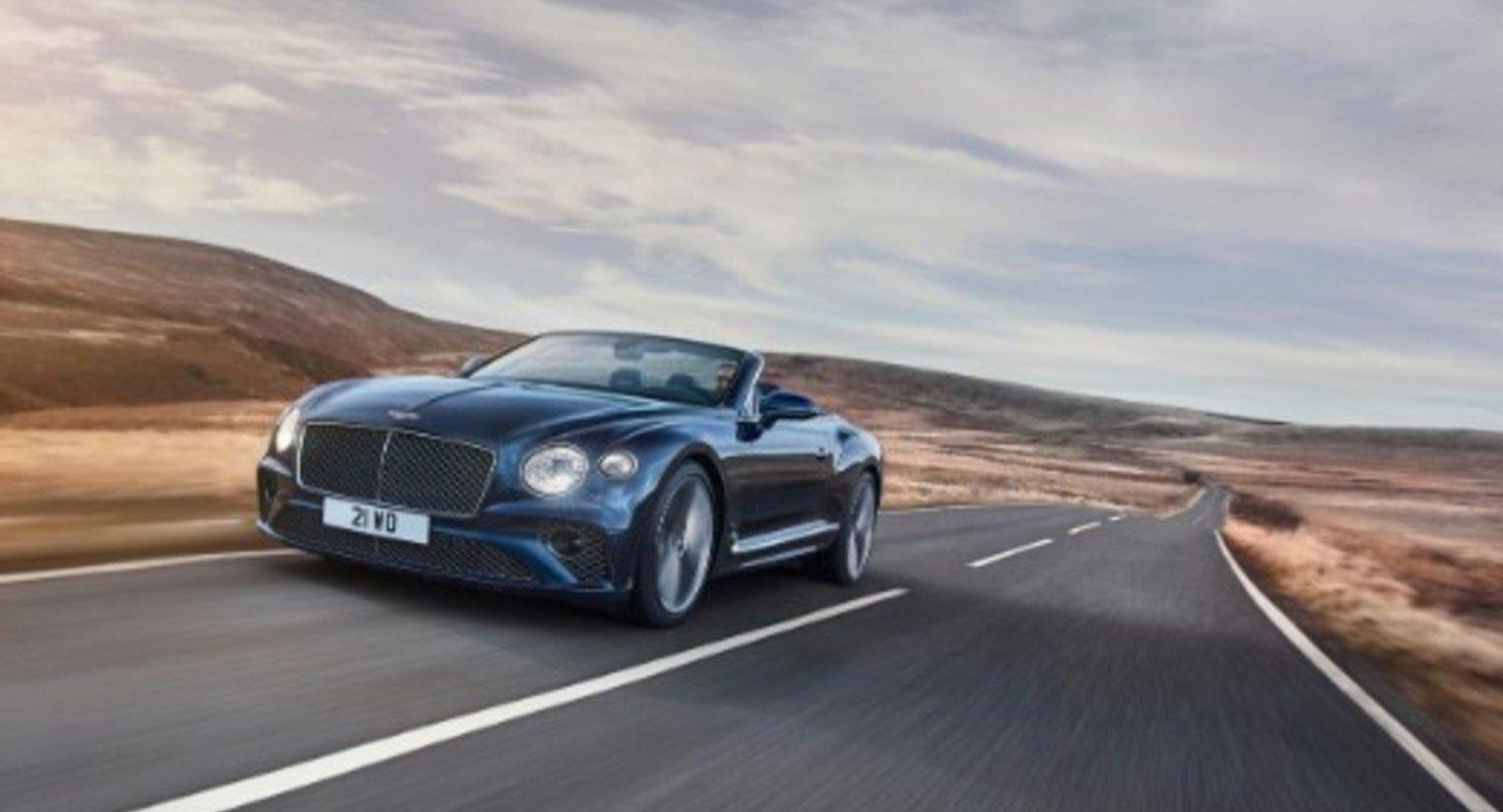 Bentley выпустила самый быстрый кабриолет Continental GT Speed Convertible Автомобили