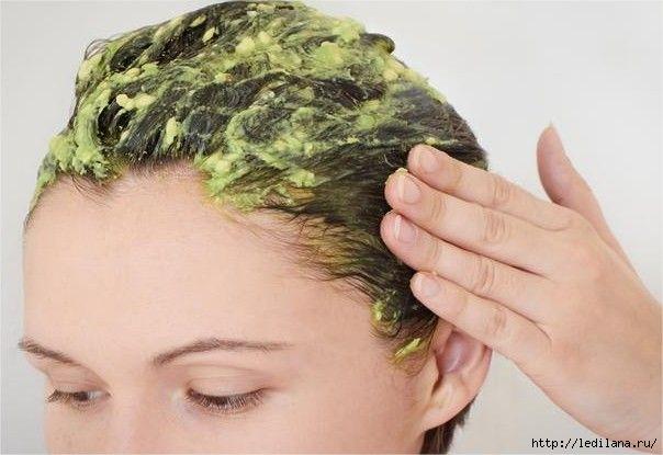 Маска, которая сделает ваши волосы густыми и крепкими! маска для волос