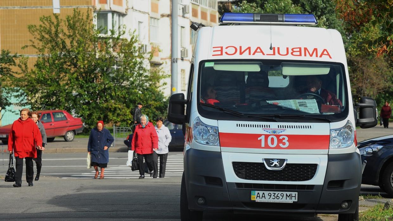 Более 15 человек пострадали при опрокидывании автобуса на Украине Происшествия