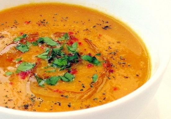 Постный суп с чечевицей: 4 р…