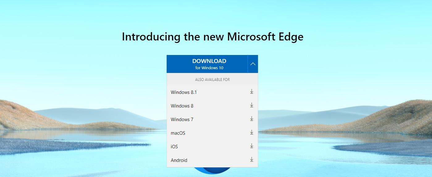 Как загрузить новый Edge Browser от Microsoft
