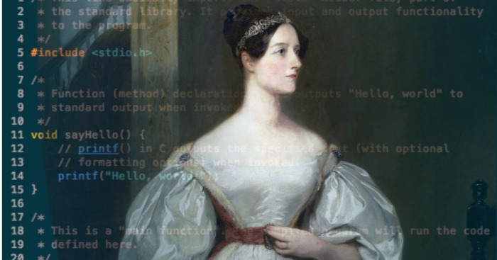 Почему жившую в XIX веке Аду Лавлейс называют «матерью программирования» и первой женщиной-программистом