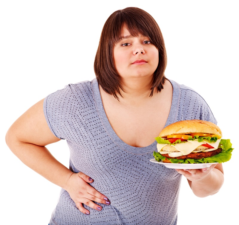 Ожирение женщины картинки