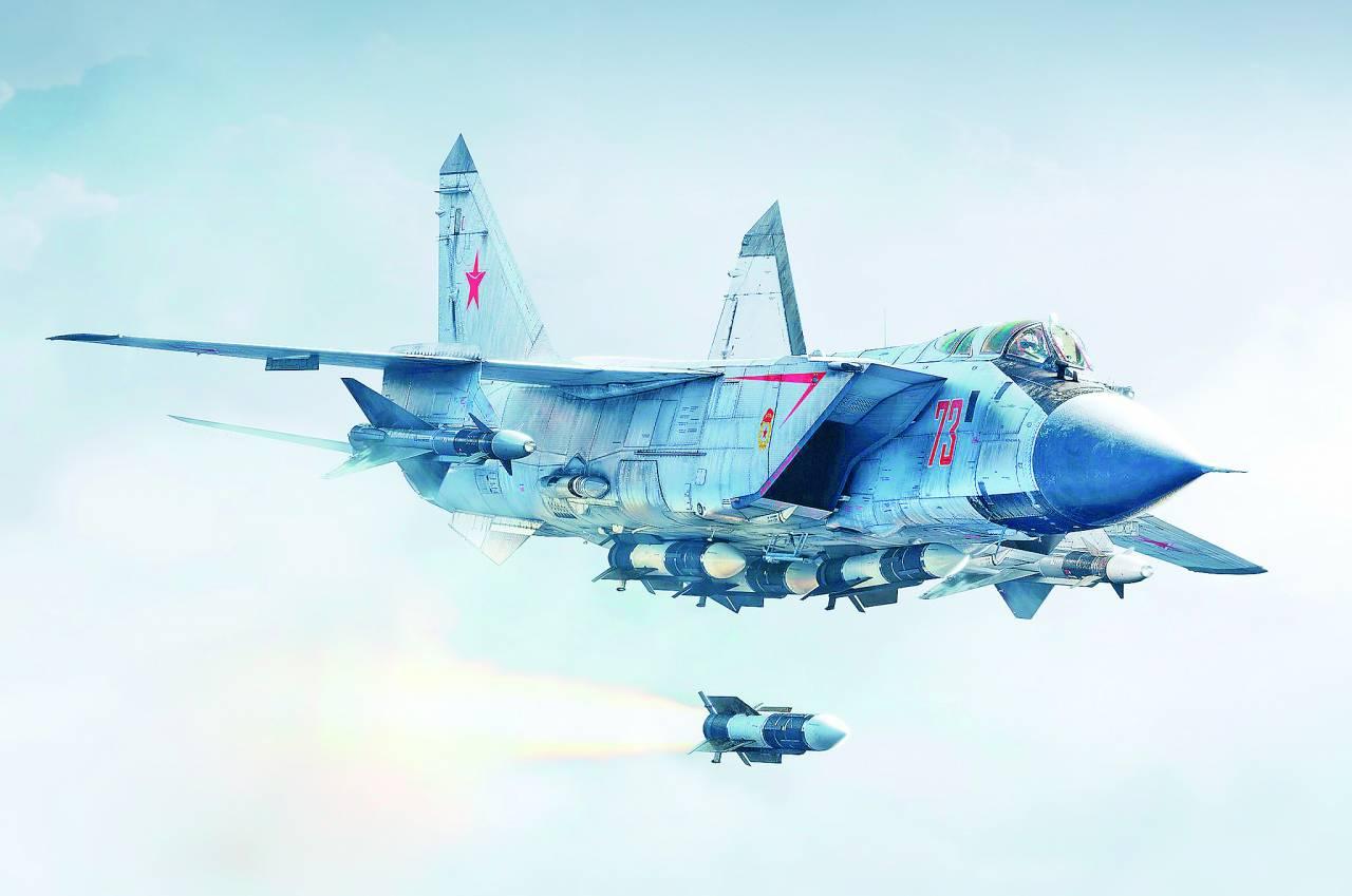 Российские истребители МиГ-3…