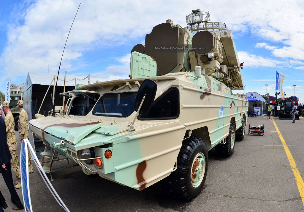 Боевая машина БМ 9А33-1Б из состава ЗРК «Оса