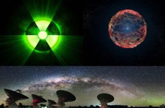 галактика, обсерватория, земля, взрыв