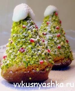 Пирожное «Рождественская Елочка»
