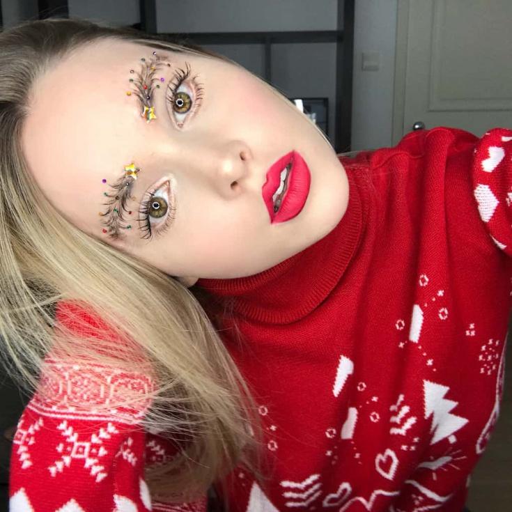 #christmastreeeyebrows  брови (трафик)