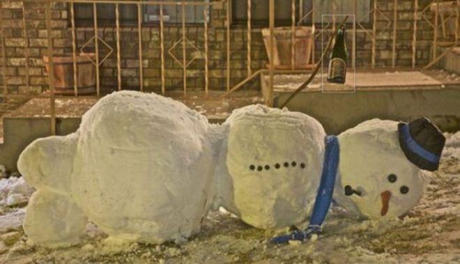 добрых снеговиков