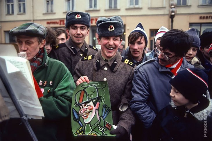 Повседневная жизнь СССР в 80-е годы
