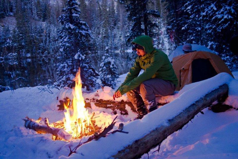 Зимняя палатка длиннопост, зима, интересно, поход, путешествие, туризм