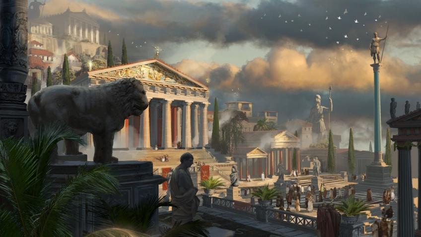 Слухи об Assassin's Creed Odyssey — социальный стелс, корабли и Церберы