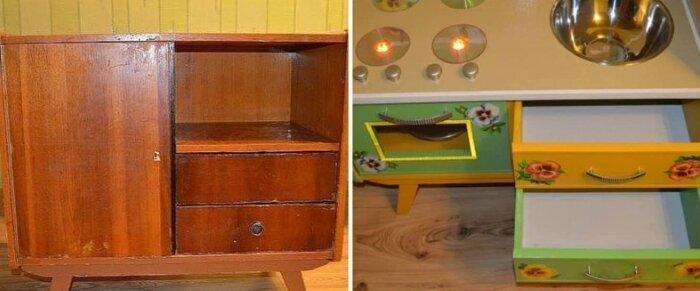 Еще одно замечательное решение для тех, у кого есть дети до и после, идея, мебель, ремонт, своими руками, фантазия