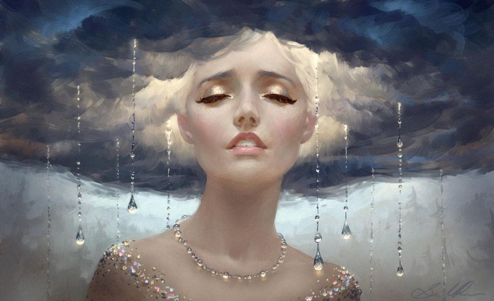Женские образы в творчестве художника-иллюстратора Selene Regener