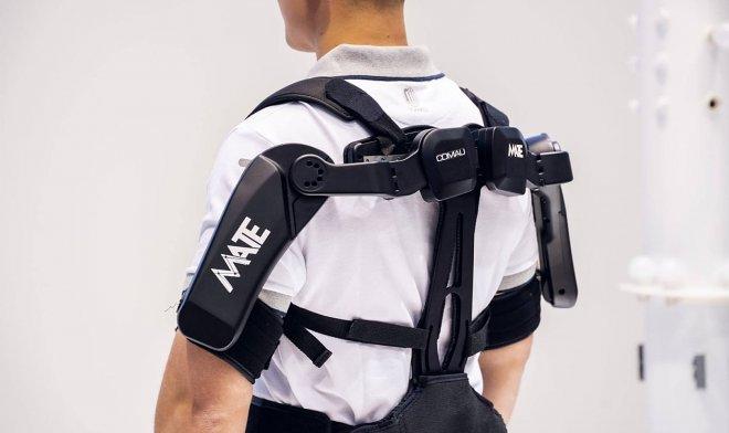 Экзоскелет МАТЕ защитит от травм при тяжелом физическом труде