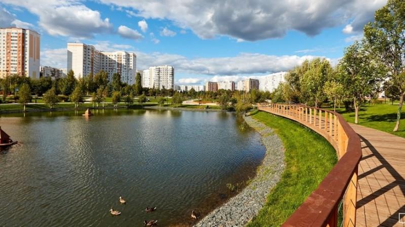 Собянин открыл в Южном Бутове новый парк