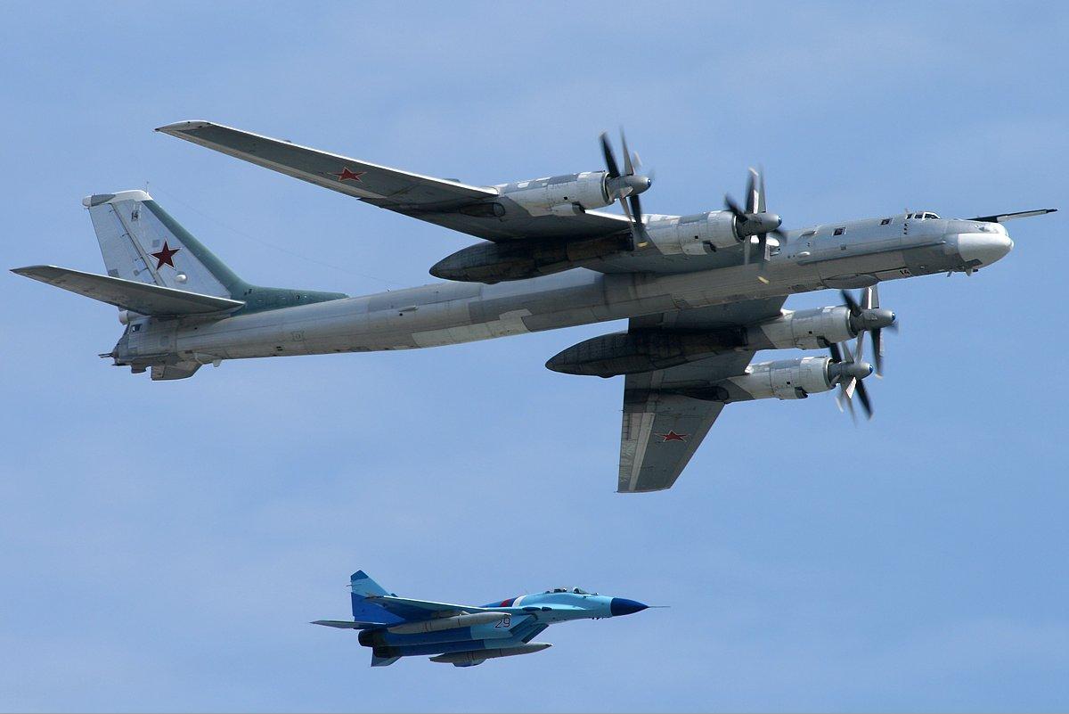 Удары Ту-95 в Восточной Хаме