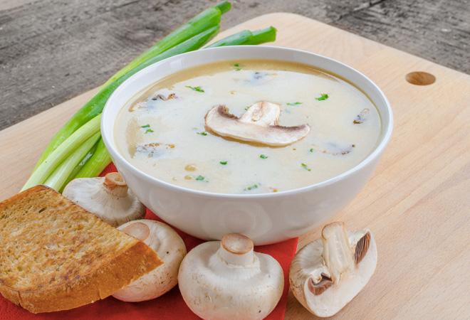 Самые вкусные грибные супы