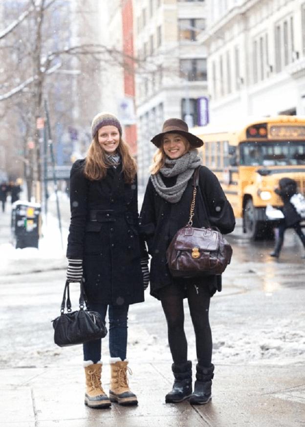 Соседка побывала в Мюнхене и поразилась тому, какие наряды предпочитают местные дамы в зимний период