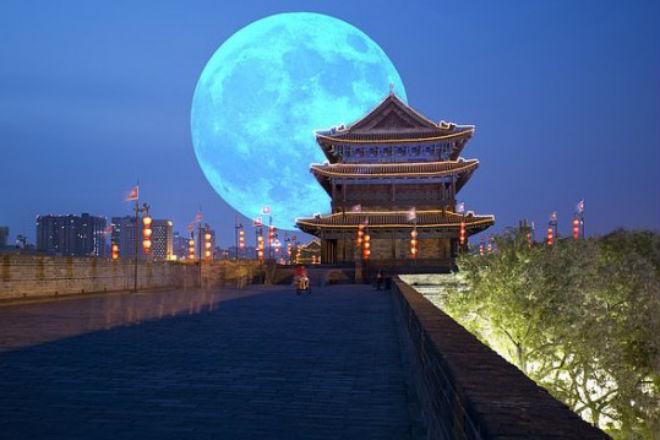 Китай создаст искусственную луну для освещения ночных городов
