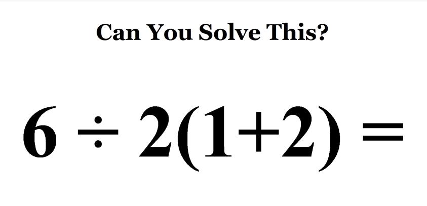 5 вирусных математических задач Интернета