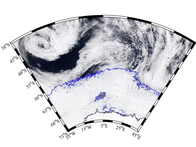 Антарктическая бездна во льду появилась внезапно и ученые не находят объяснений антарктида,климат,наука,Пространство,экспедиция