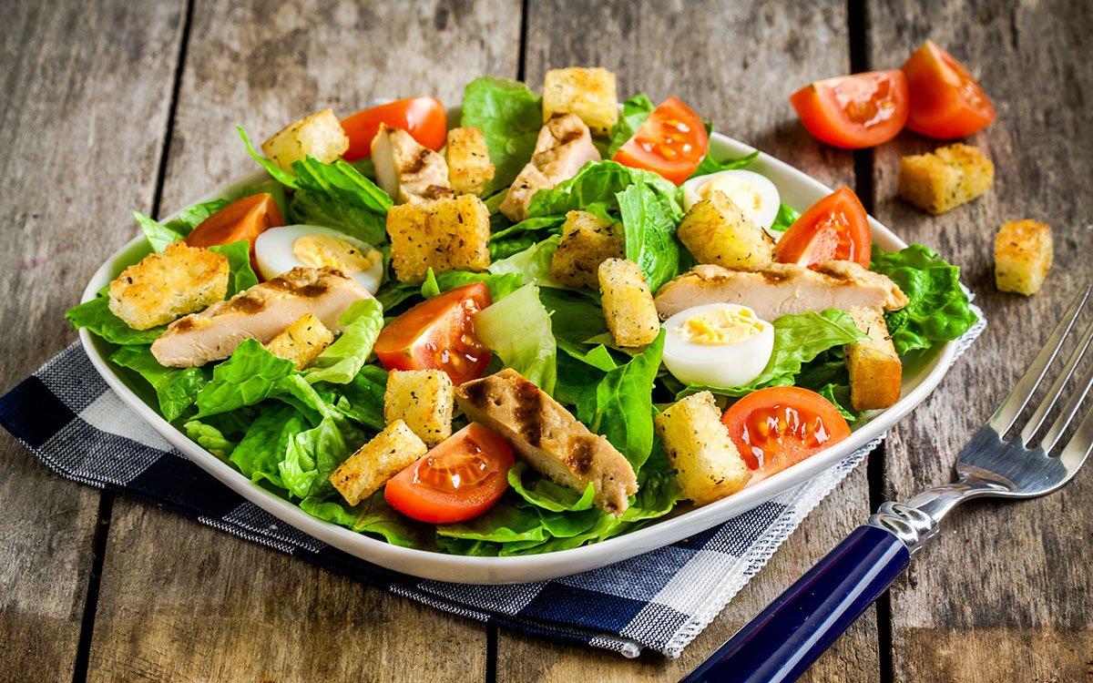 Вкусные летние салаты – простые рецепты с фото