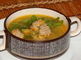 Суп с фрикадельками: пошаговый рецепт с фото