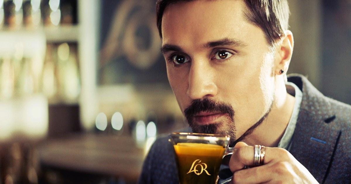 Дима Билан снялся в рекламной кампании кофе L'OR