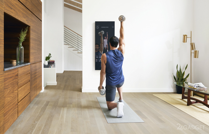 Mirror — смарт-зеркало, заменяющее спортзал и тренера
