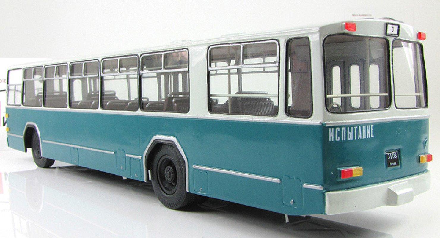 Малоизвестный автобус ЗиУ-8, созданный троллейбусным заводом имени Урицкого Автомобили