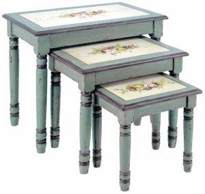 Мастер-класс по декору старого стола
