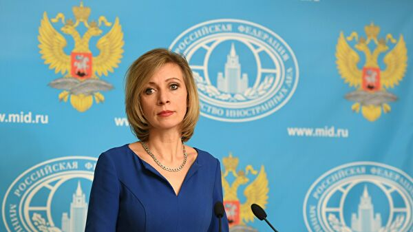 Захарова назвала статью премьера Польши об Освенциме самоубийством