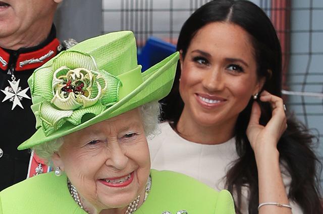 Елизавета II собирается назначить Меган Маркл королевским патроном