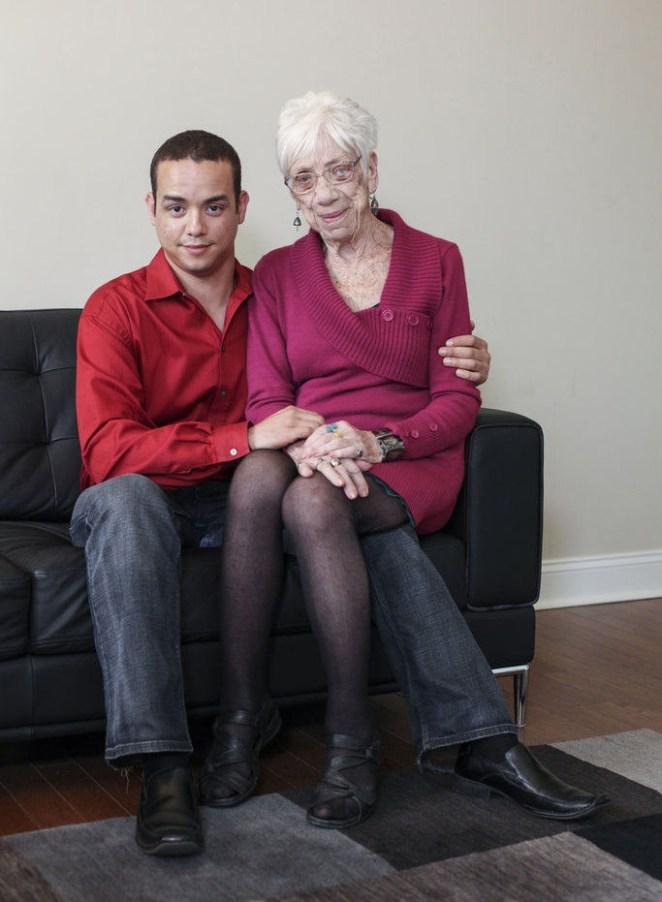 увлечение молодых парней старыми женщинами