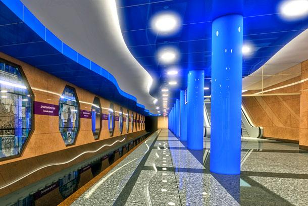 Путешествие по петербургскому метро