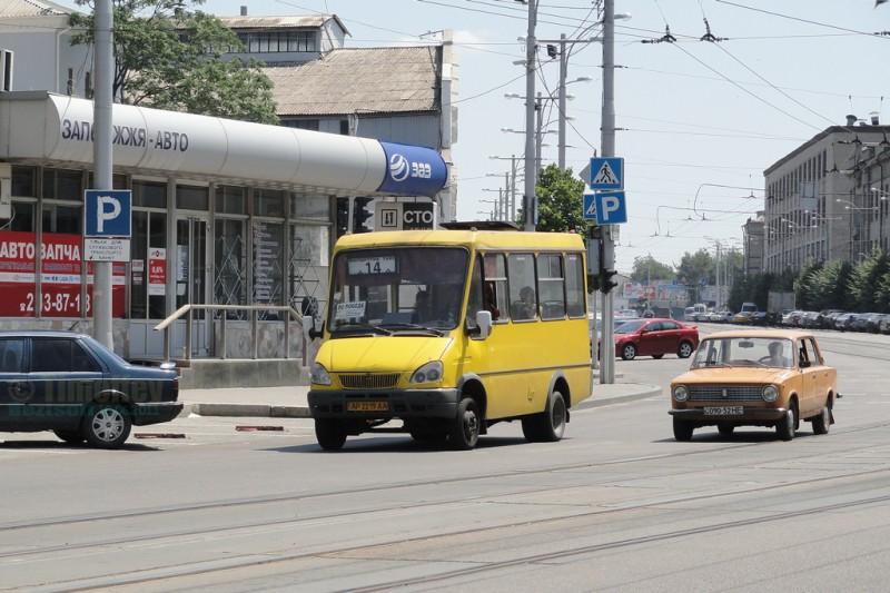 Водитель маршрутки выбросил ветеранов АТО из машины