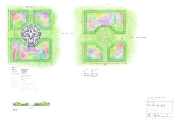 Классический План участка by Laara Copley-Smith Garden & Landscape Design