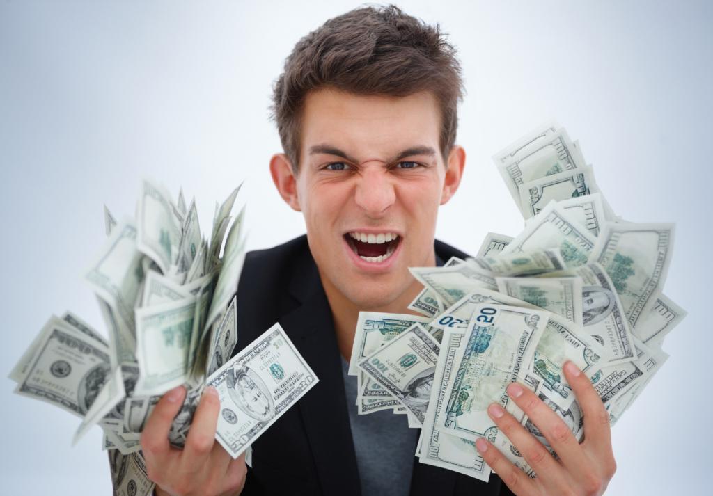 Фото деньги на комп