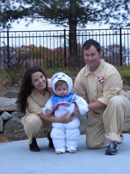 Прикольные костюмы на Хэллоуин для всей семьи